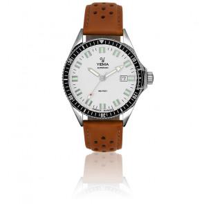 Superman Silver Bracelet Perforé Camel YMHF1551-FS24