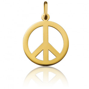Médaille Peace And Love Or Jaune 18K