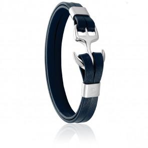 Bracelet Ancre Abysse & Acier
