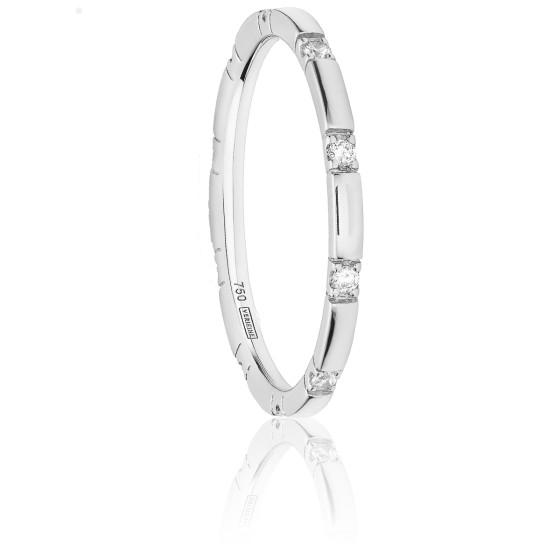 Alliance X Range Diamants & Or Blanc 18K