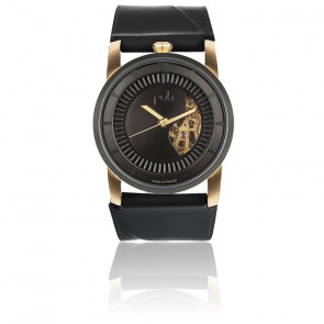Montre Rehab 413 Gold Solid Black