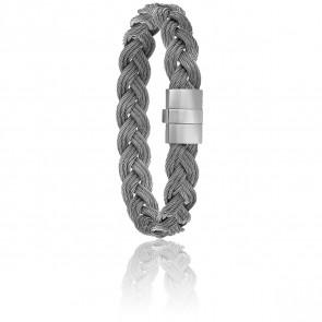 Bracelet 604 Câbles Tressés & Acier