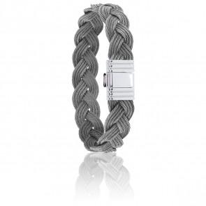 Bracelet 696 Câbles Tressés & Acier
