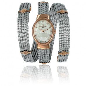 Montre Twist Oval 12 zircons TWOP.510.O01