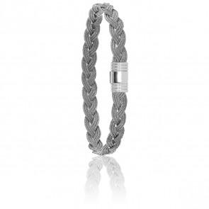 Bracelet 608 Câbles Tressés & Acier