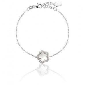 Bracelet Marguerite Nacre & Argent