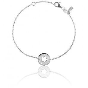 Bracelet Etoile Argent