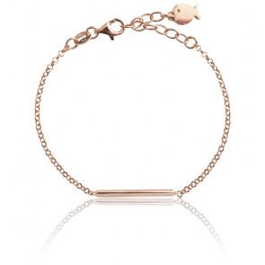 Bracelet Adèle Argent Plaqué Or Rose