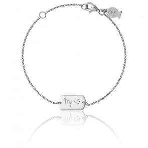 Bracelet My Love Argent