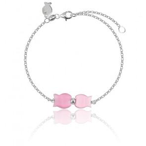 Bracelet Lisa Rose Argent