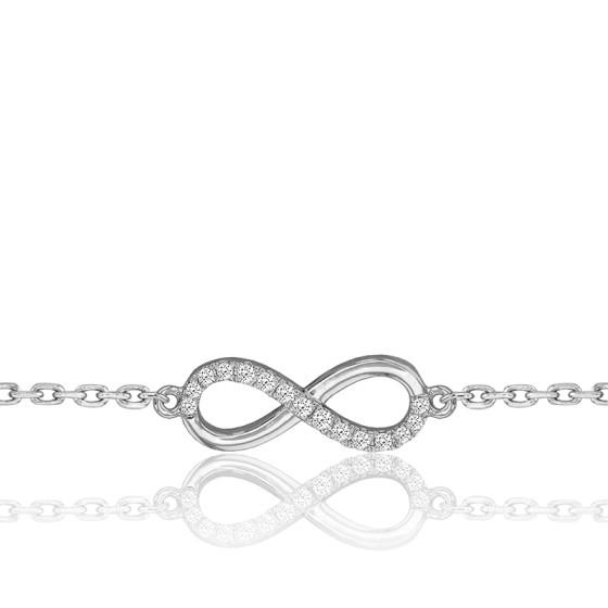 bracelet femme signe infini