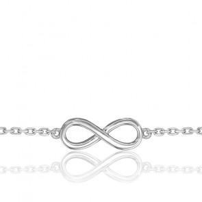 Bracelet Eternity Star Or Blanc 18K