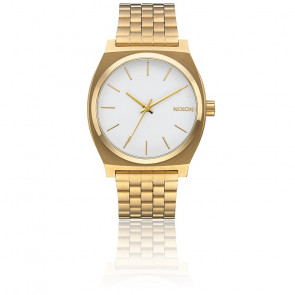 The Time Teller Gold / White A045-508