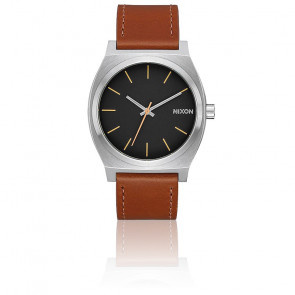 The Time Teller Silver / Black / Brown A045-2455