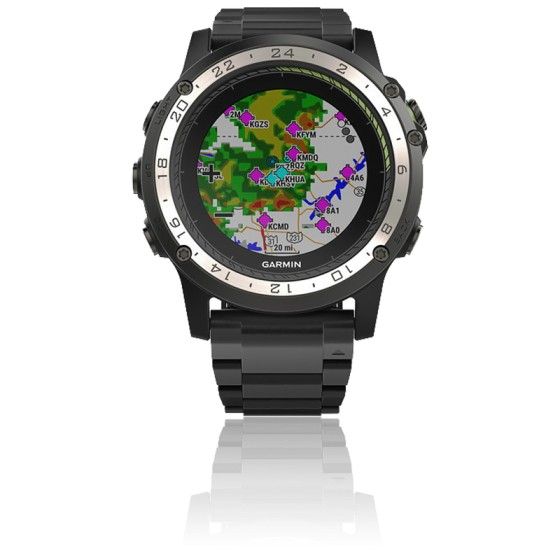 D2 Charlie 010-01733-33 Titanium Bezel with Titanium and Silicone Bands