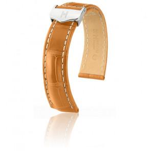 Bracelet Navigator Miel Mat / Silver - Entrecorne 20 mm - Chute 18 mm