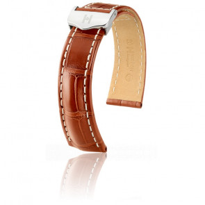Bracelet Navigator Brun Or Mat / Silver - Entrecorne 18 mm - Chute 16 mm