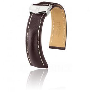 Bracelet Navigator Brun / Silver - Entrecorne 22 mm - Chute 20 mm