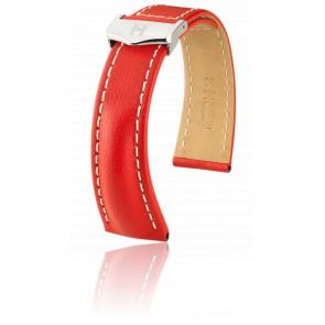Bracelet Navigator Rouge / Silver - Entrecorne 20 mm - Chute 16 mm