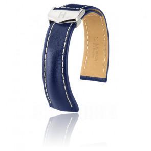 Bracelet Navigator Bleu / Silver - Entrecorne 18 mm - Chute 16 mm