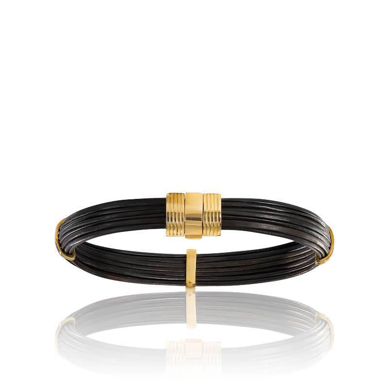 bracelet elephant et or albanu bracelet en poil d. Black Bedroom Furniture Sets. Home Design Ideas