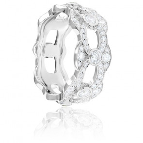 Bague Kenza Diamants & Or Blanc 18K