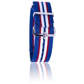 Bracelet bleu/rouge/blanc/bleu