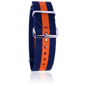 Bracelet Bleu/orange