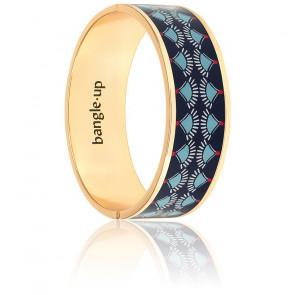 Bracelet Jardins Nomades Bleu Nuit Plaqué Or Jaune