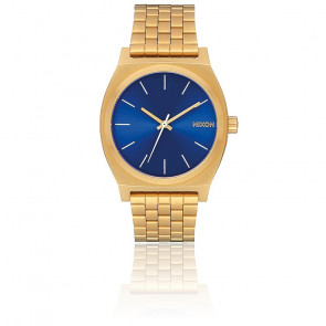 The Time Teller All Gold / Blue Sunray A045-2735