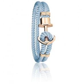 Bracelet Ancre PHREP Acier PVD Or Jaune, Nylon Niagara