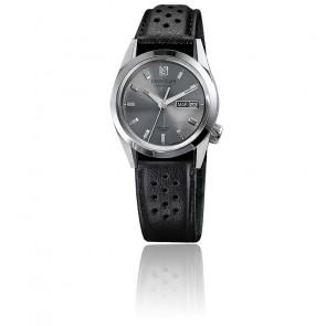 AM89 automatique Gris bracelet Buffle Noir Perforé AM89AGRL6