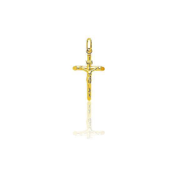 Croix  Christ  Or Jaune 18K