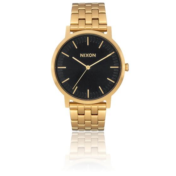 Montre The Porter All Gold / Black Sunray A1057-2042