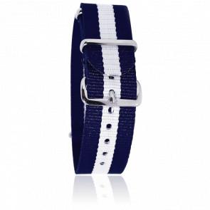 Bracelet bleu/blanc