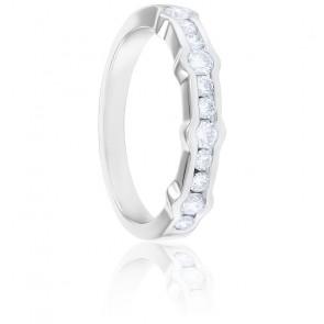 Alliance Gabrielle Diamants & Or Blanc 18K