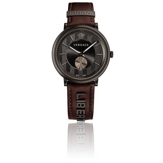 Montre V-Circle Gent Marron VBQ04 0017 - Versace - Ocarat 9421c46126d