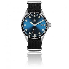 Superman Lagoon Bracelet Perlon Noir YMHF1557-GSP01