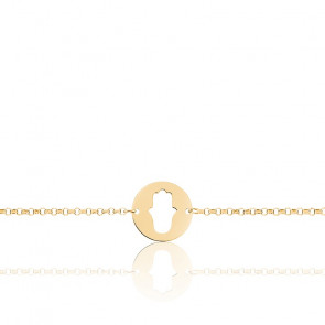 Bracelet Main de Fatma Or Jaune 18K