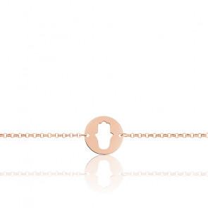 Bracelet Main de Fatma Or Rose 18K