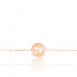 Bracelet Love Circle Or Rose 18K
