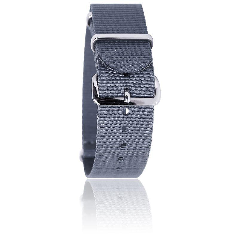 Bracelet Nato Gris 20 mm