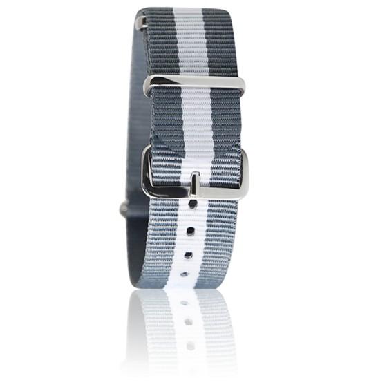 Bracelet gris/blanc