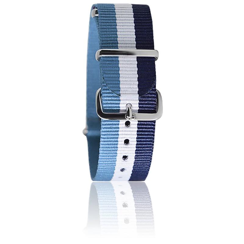 Bracelet Bleu clair/blanc/navy