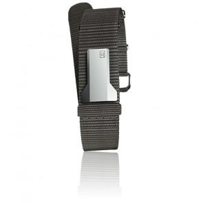 Bracelet Textile Klink-01 Gris Souris