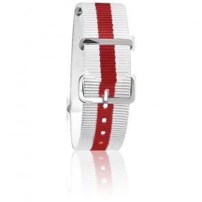 Bracelet Blanc/rouge