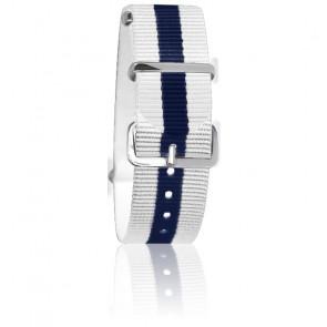 Bracelet Blanc/bleu