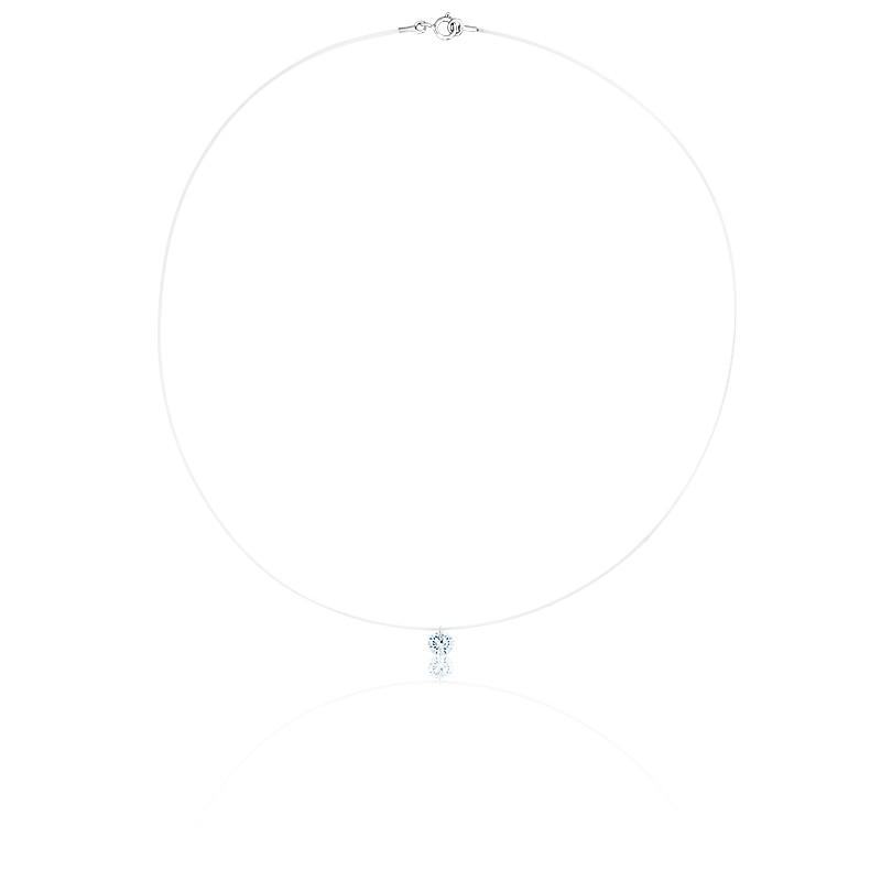 collier tourbillon d apesanteur diamant fil de p che ocarat. Black Bedroom Furniture Sets. Home Design Ideas