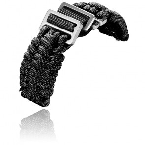 Bracelet Noir pour INOX. Paracorde