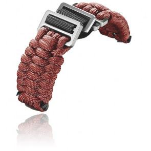 Bracelet rouge pour INOX. Paracorde
